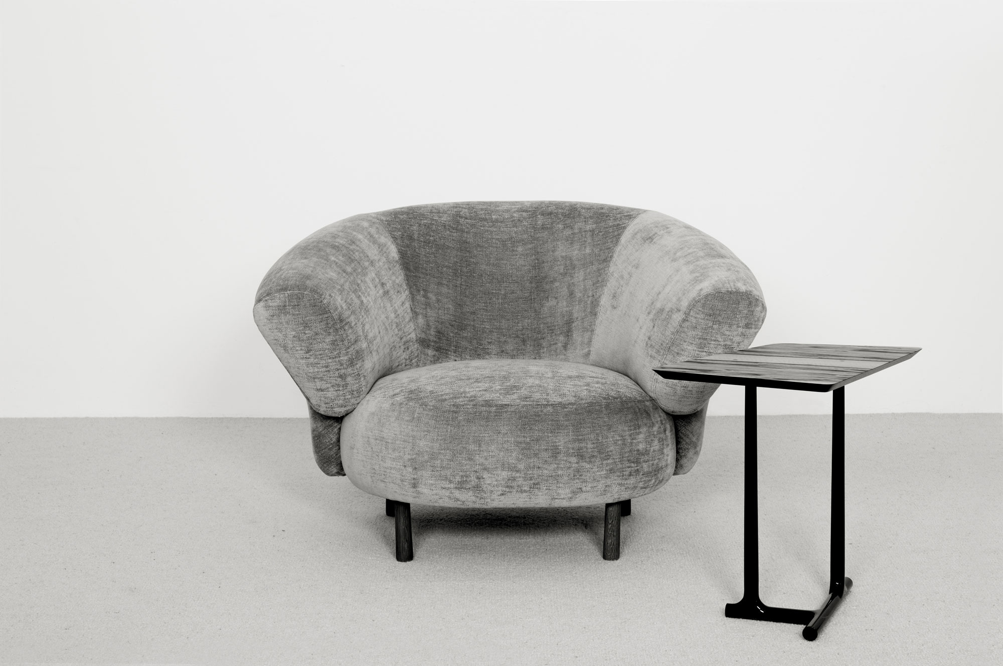 Ana Fauteuil Yte Table Appoint - Christophe Delcourt