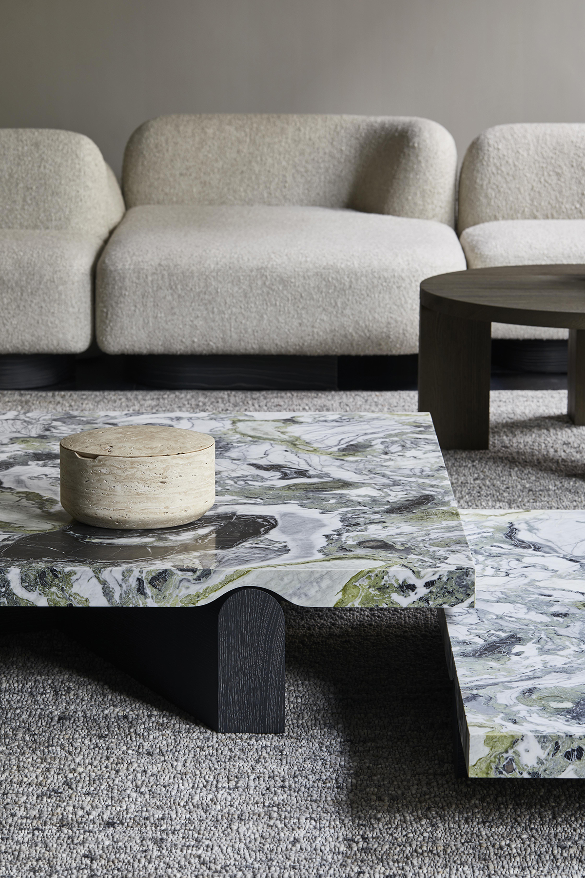 Delcourt-Collection - POP sofa - GEO low table - EDO low table