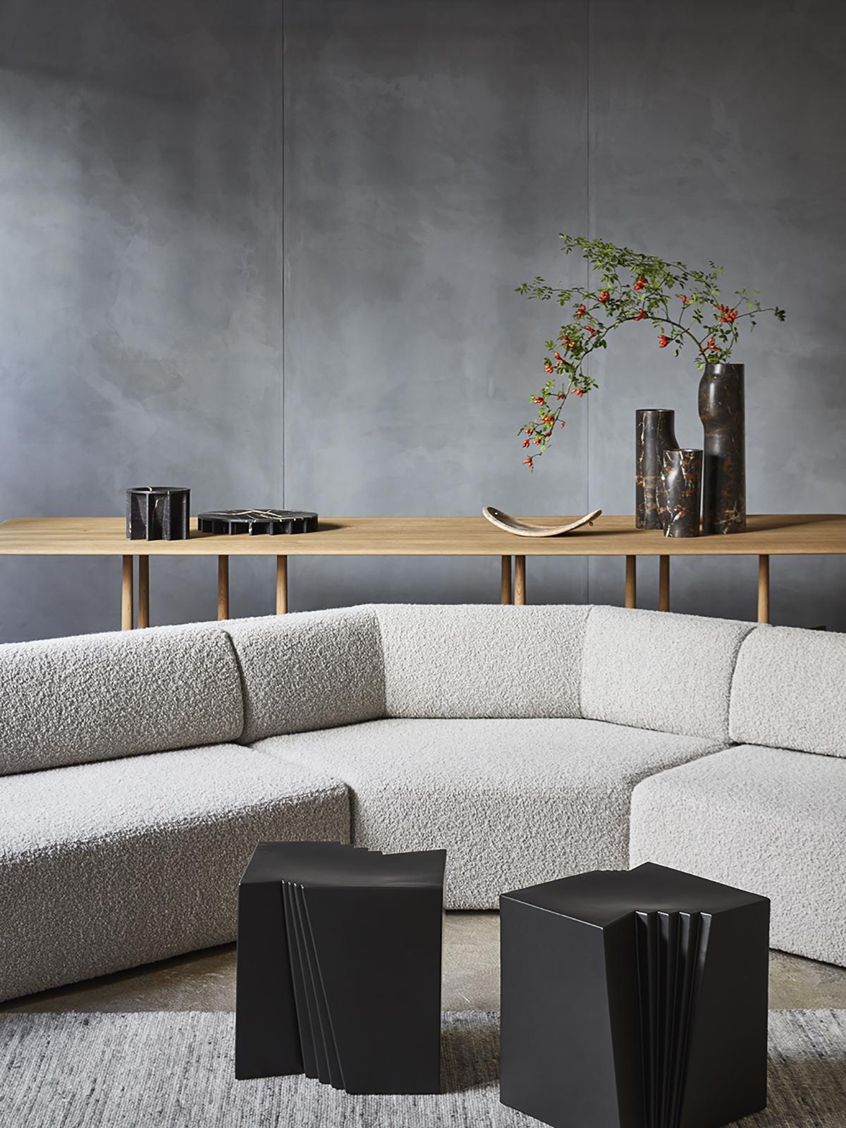 Declourt Collection - EKO sofa - SIN side table - TYE table