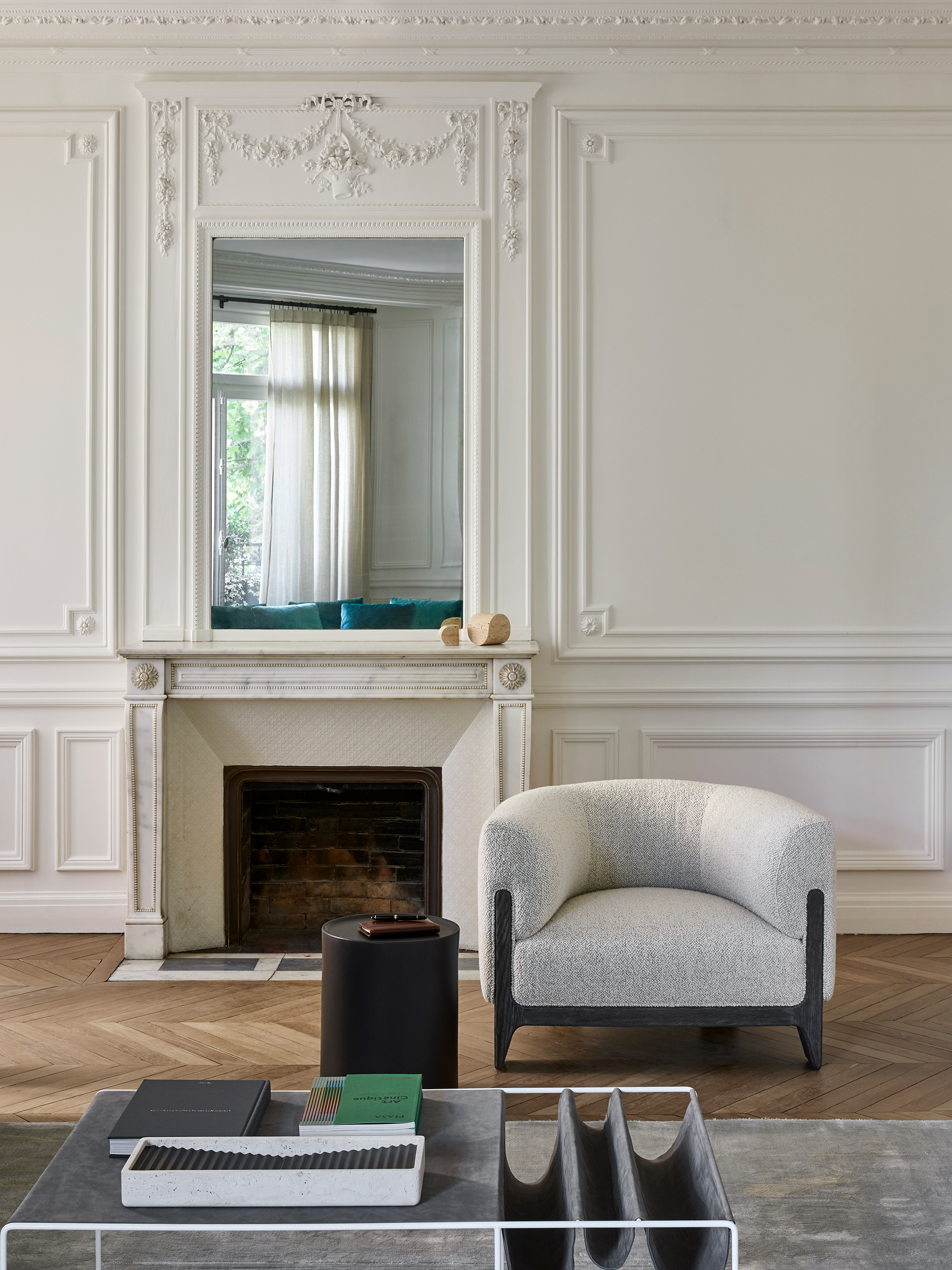 Declourt Collection - BOB chair - SUE low table - IKO side table